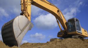 Indústria da construção civil e asfalto