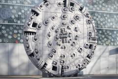 Máquinas de perfuração de túneis de rocha